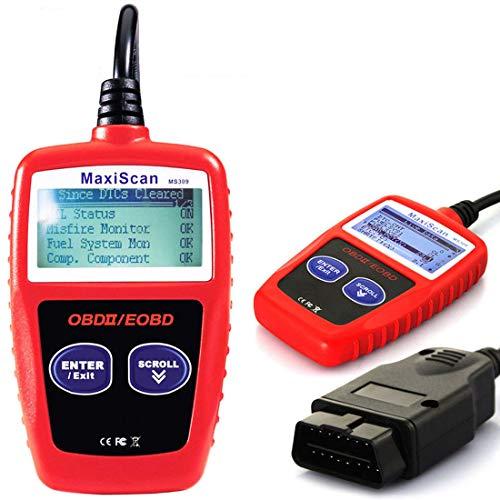 GCARTOUR OBD2 OBD Car Diagnostic Scanner Professional Diagnostic Car Detector Engine Error Code Reader NT301 Scanner Tool