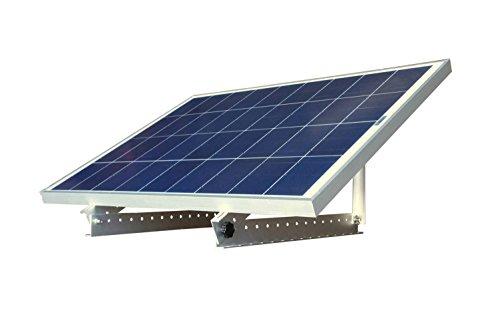 WindyNation 100 Watt 100W 12V 12 Volt Solar Panel Battery Charger  Adjustable Solar Mount Rack Bracket RV Boat Off Grid