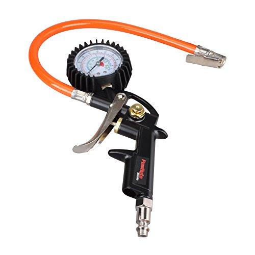 PowRyte Basic 220 PSI Pistol Grip Air Tire Inflator with Dial Gauge