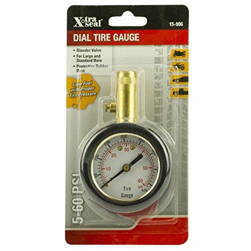 X-Tra Seal 15-906 Deluxe Dial Gauge with Bleeder