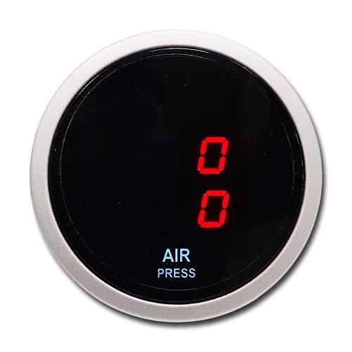 MOTOR METER RACING Electronic Suspension Air Pressure Gauge 2 Dual Digital Display 220 PSI Includes sensors Kits
