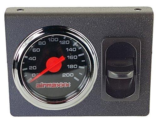 airmaxxx Single Needle Air Gauge Display Panel 1 Paddle Switch