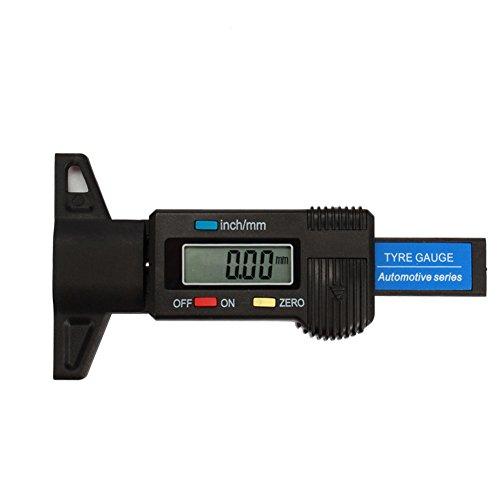 Pumpkin Digital Tire Tread Depth Gauge Meter Measurer for Cars Trucks and SUV 0-254mm