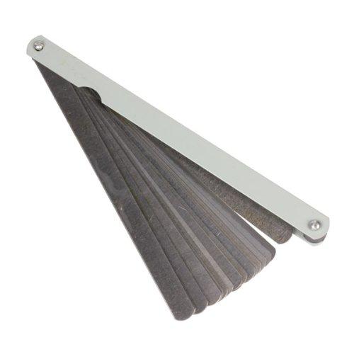 Dealglad 005 to 1mm 20 Blade Foldable Feeler Gauge Metric Gap Measure Tool 300mm