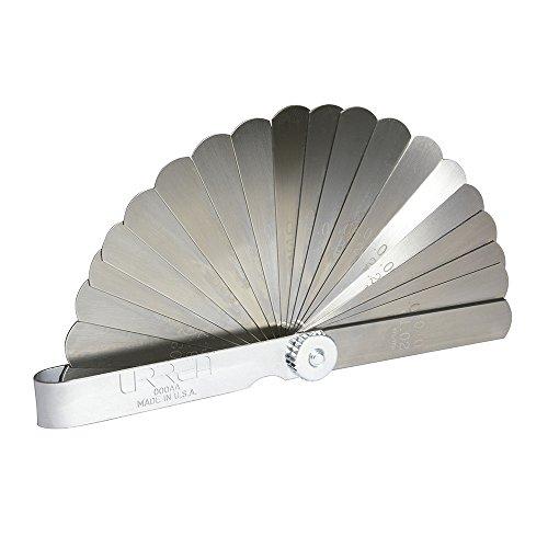URREA 000AA 25 Blade Feeler Gauge Set