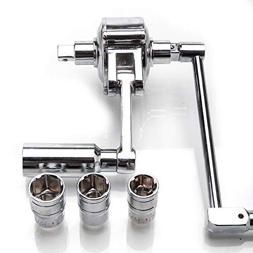 eesTorque Multiplier Wrench Lug Nut Remover 12 Drive Socket 17 19 21 Tire Change