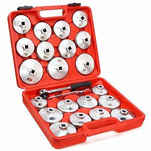 Generic Oil Filt Filter Cap Removal l Filt Wrench Cup Socket ench Cup Sock With Case Cup Socket 23 Pcs Oil panner Wit Set Ratchet Spanner