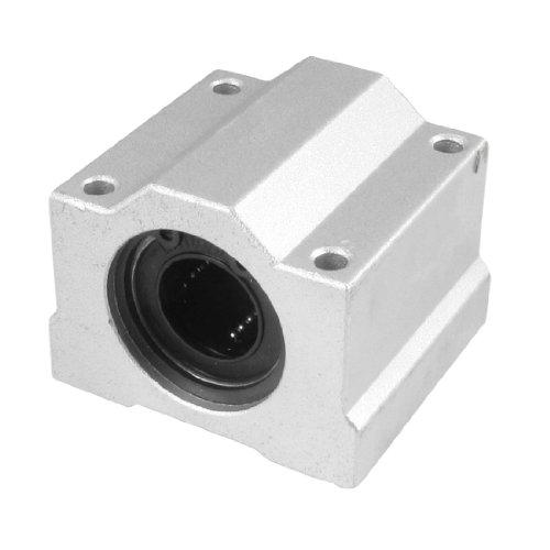 uxcell SCS16UU LM16UU 16mm Linear Motion Ball Bearing Slide Unit Bushing