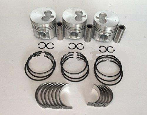 GOWE engine parts For Isuzu engine parts 3KR1 piston  piston ring  crankshaft bearings  con rod bearings