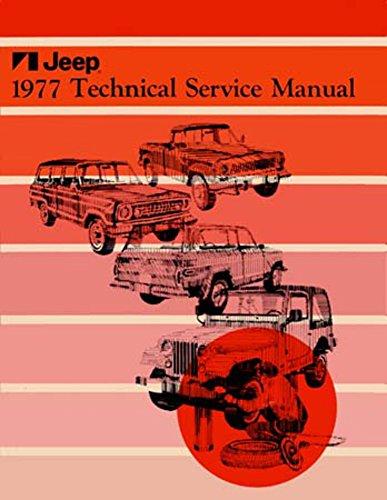 1977 Jeep CJ Wrangler Scrambler Shop Service Repair Manual Engine Drivetrain OEM