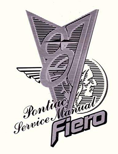 1987 Pontiac Fiero Shop Service Repair Manual Book Engine Drivetrain Electrical