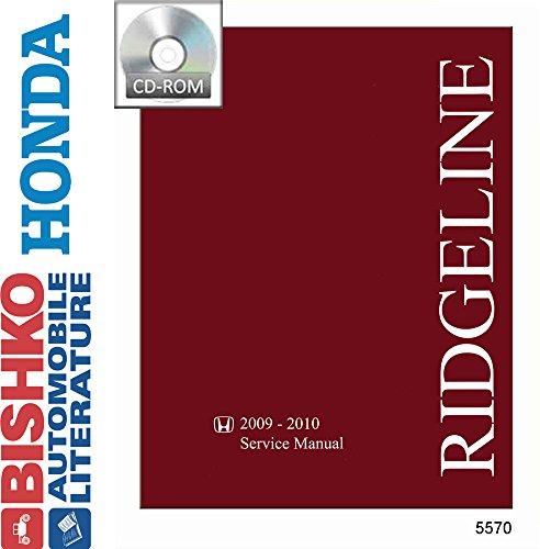 2009 2010 Honda Ridgeline Shop Service Repair Manual CD Engine Drivetrain Wiring