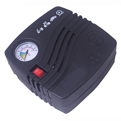 Air Compressor Electric Motorbike Pump Tyre Inflator 150PSI Portable Electric Bicycle Pump With Pressure Gauge