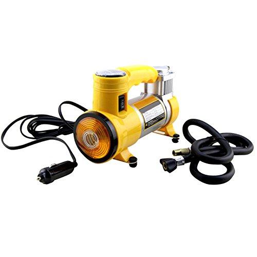 MeiBoAll DC 12V Car Air Compressor Pump Portable Electric Air Pump Car Inflatable Pump with LED Light