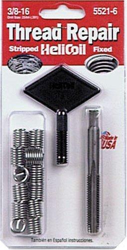 Helicoil 5521-6 38-16 Inch Coarse Thread Repair Kit
