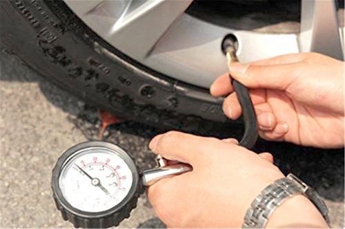 Denshine Truck Auto Vehicle Car Tyre Tire Air Pressure Gauge 0-100PSI Tester Dial Meter