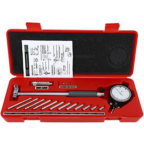 YaeTek 2 - 6 Bore Gauge 0001 Deep Engine Hole Cylinder Measurement Gage Cylinder Dial Bore Indicator Gauge