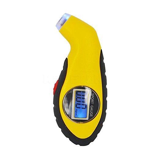 LCD Digital Tire Pressure Gauge Auto Car Motorcycle Air Pressure Tyre Tester Tool 0-100 Psi