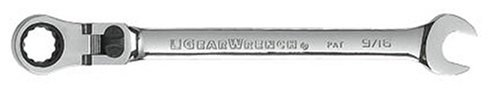 GEARWRENCH 916 12 Point XL Locking Flex Head Ratcheting Combination Wrench - 85718