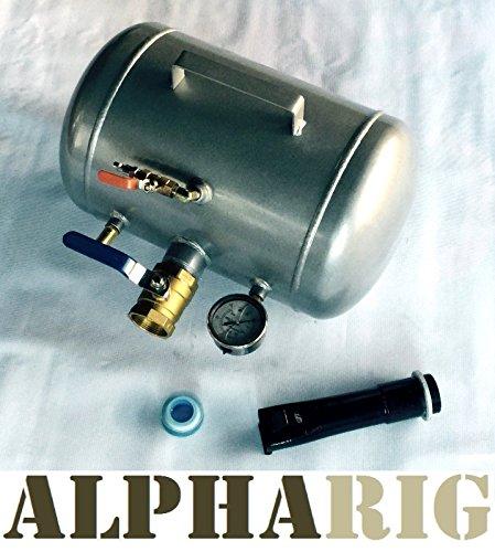 ALPHARIG TIRE BEAD SEATER AIR TANK NEW 5 GALLON