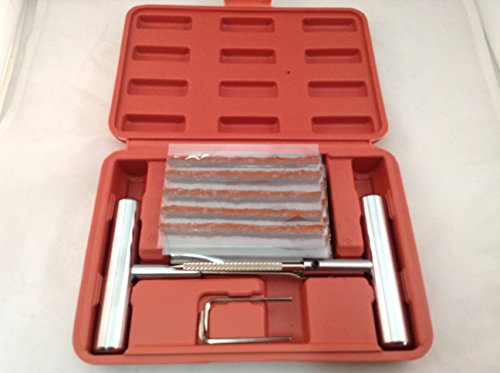 34pc Professional Tire Repair Kit Heavy Duty Puncture Fix it Kit Tire Plug Kit