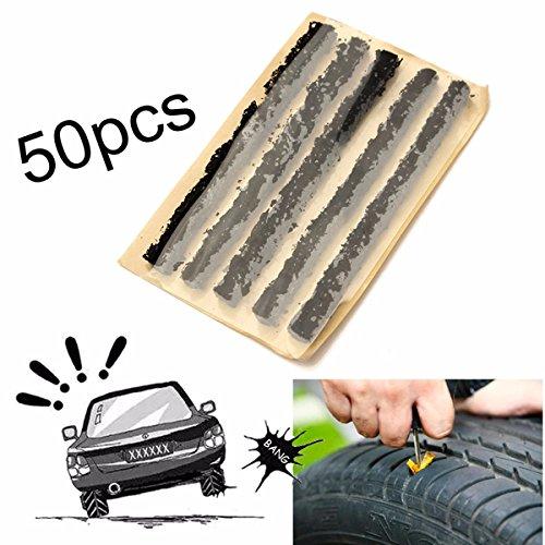 Tire plug repair plugs heavy duty tire plug kit 50pcs Car Auto Tubeless Tyre Emergency Puncture Repair Tire Strip