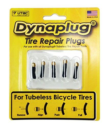 Dynaplug Bicycle Tubeless Tire Repair Plugs Bullet Tip