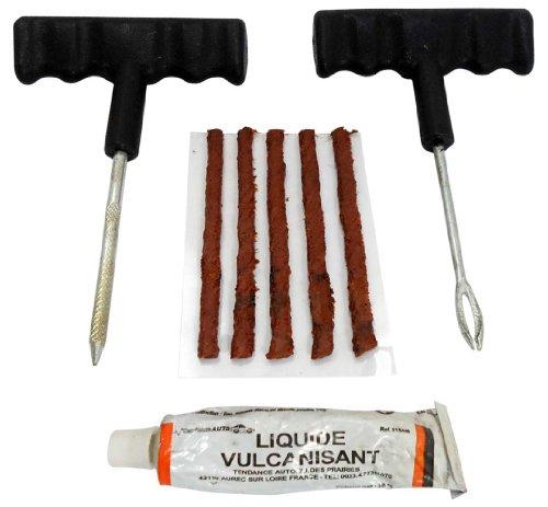 ROAD GENIE Tubeless Tire Repair Kit Heavy Duty T-Handle Tire Plug Kit