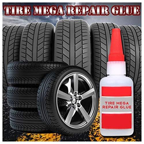 Cithy 1PC 20ML Mighty Tire Repair Glue Silicone Footwear Glue Universal Glue Fast Repair and Curing Bike Car Tire Repair Patch Craft