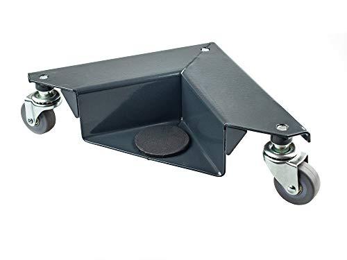 Pake Handling Tools - Corner Mover 3 Wheel Dolly- Low Profile Wheel Dollies Set of 4-1320 lb Load Capacity