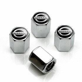 4pcs Tire Valve Stem Caps Fit For Nissan Car Model