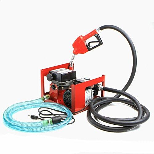 GHP 20-60 Lmin 370W 110V Pump Type Vane Diesel Kerosene Gas Fuel Transfer Pump