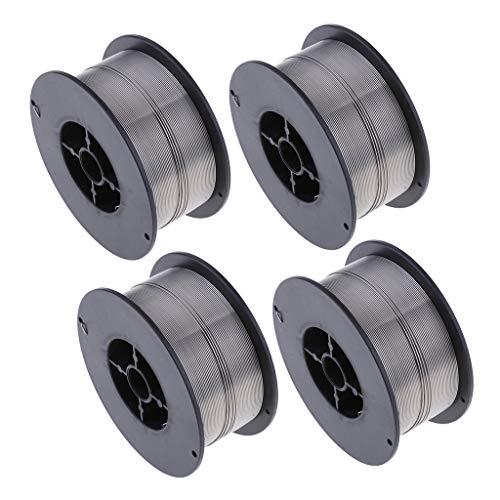 gazechimp 4 Spool Stainless Steel Gasless Flux-Cored Welding Wire 0030 08mm 22Lb
