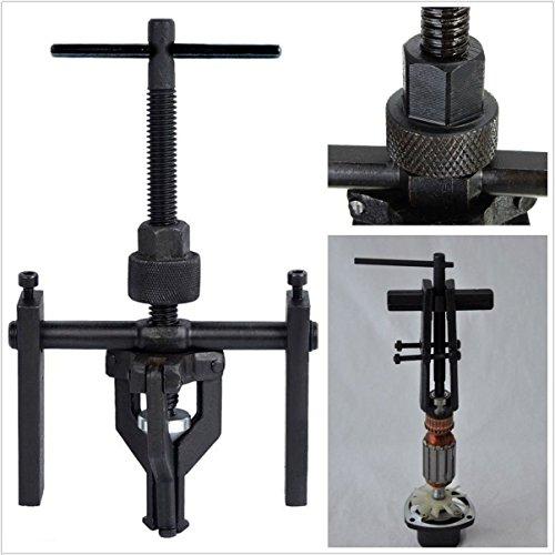 Professional Car Wheel 3-Jaw Heavy Duty Pilot Gear Bearing Puller Extractor Tool