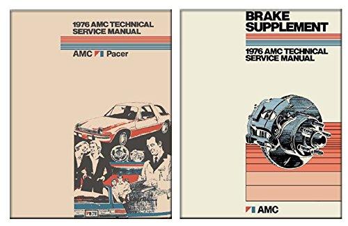 1976 AMC Pacer Shop Service Repair Manual Book Engine Electrical OEM