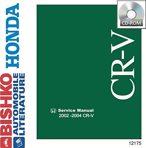 2002 2003 2004 Honda Cr-V Shop Service Repair Manual CD Engine Electrical OEM