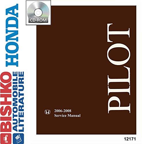 2006 2007 2008 Honda Pilot Shop Service Repair Manual CD Engine Electrical OEM