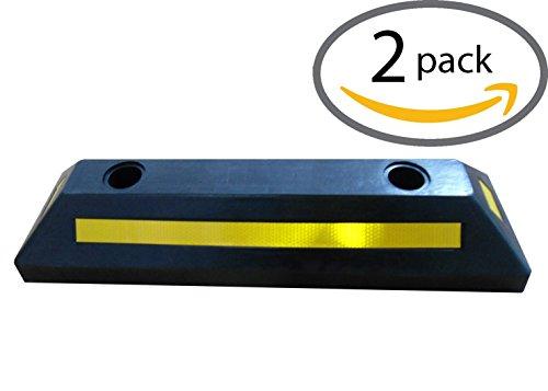 Car Garage Parking Wheel Stop Block - 22 inch - 2 Pack BW3312