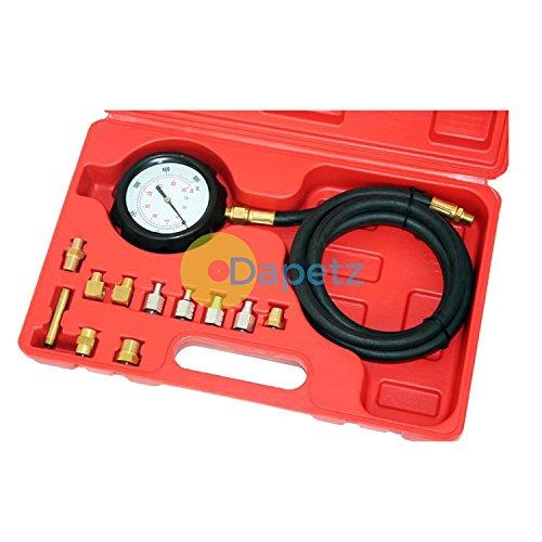 Dapetz Wave Box Oil Pressure Meter Test Kit Tester Gauge Diesel Petrol Car Garage Tool