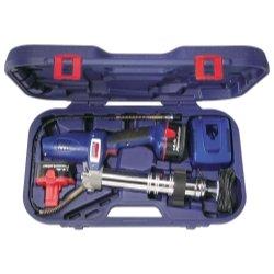144 Volt Powerluber Grease Gun Kit with 2 Batteries