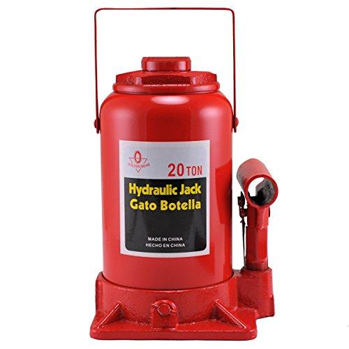 Hiltex 20206 High Lift Heavy Duty Hydraulic Bottle Jack 20 Ton