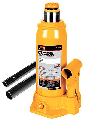 Performance Tool W1623 4-Ton 8000 lbs Heavy Duty Hydraulic Bottle Jack  Lift Range 7-58 to 14-58
