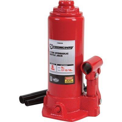 Strongway 8-Ton Hydraulic Bottle Jack