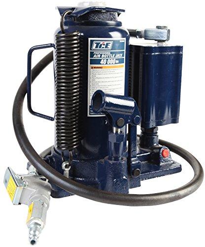 TCE TCE31001 20 Ton Heavy Duty ManualPneumatic Professional Hydraulic Bottle Jack