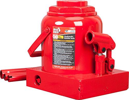 Torin Big Red Hydraulic Bottle Jack 50 Ton 100000 lb Capacity