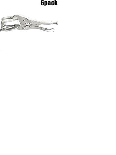 Irwin Vise Grip 9R 6 Pk 9 Inch Welding Clamp Locking Pliers