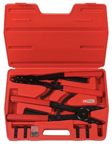 KS Tools 5001300 Circlip pliers set with ratchet function 14 pcs