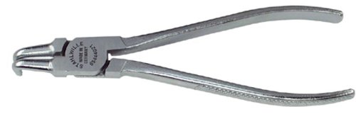 Stahlwille 65444031 90° Bent Snap Ring Plier for Inside Circlip with Matt Chrome Plated Head J 31 Size 23mm Diameter 215mm Length