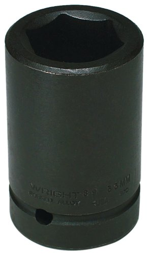 Wright Tool 89-32MM 32MM 1-Inch Drive 6 Point Deep Metric Impact Socket