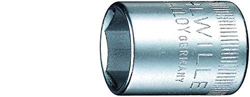 Stahlwille 40-10 Steel Hexagon Socket 14 Drive 6 Points 10mm Diameter 23mm Length 143mm Width